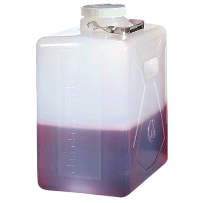 5 Gallon/20 Liter Nalgene Autoclavable Polypropylene Rectangular Carboy