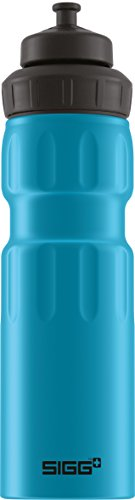 SIGG WMB Sports Touch Water Bottle, Blue, 0.75-Liter
