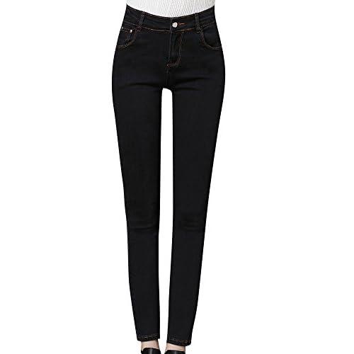 230c0d18a2b Mujer De Talle Alto Jeans Pantalones Denim Vaqueros outlet ...