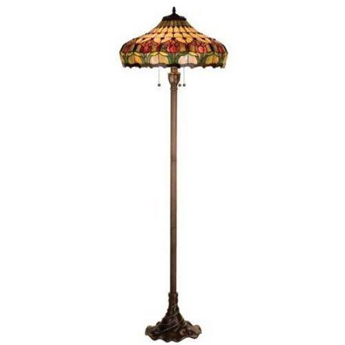 Meyda Tiffany Tiffany Colonial Tulip Floor Lamp