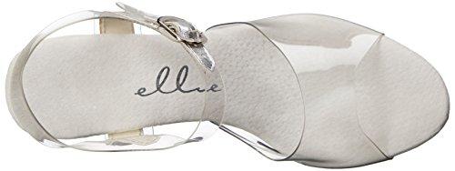 Ellie Shoes Women's 609-CHROME Platform Sandal Clear/Silver sale great deals cheap sale cost cheap latest collections 279NOg95O