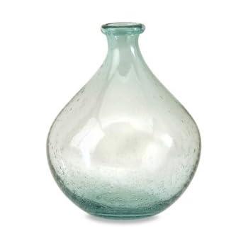 IMAX 63024 Amadour Bubble Glass Bottle, Small