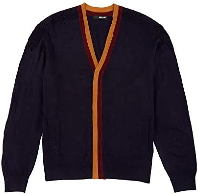 メンズ ニット、セーター Full-Zip Long Sleeve Cardigan [並行輸入品]