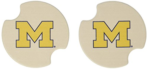(Thirstystone University of Michigan Car Cup Holder Coaster, 2-Pack)