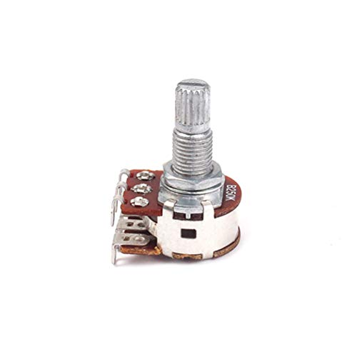 Healifity B250K 250K OHM Linear Taper Rotary Potentiometer