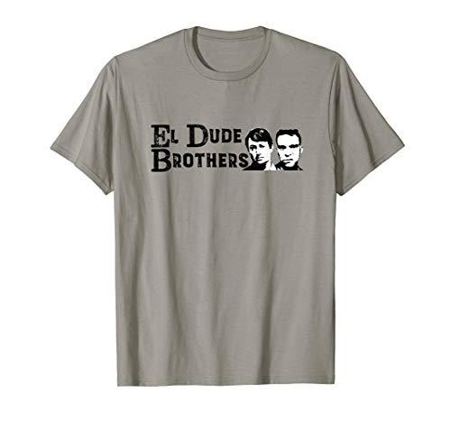 El Dude Brothers, Mark & Jeremy Peep Show Design T-Shirt