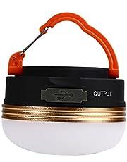 F Fityle LED camping lykta lampor USB uppladdningsbara lyktor magnetisk mini nödsituation nattlampa tältlampa för camping vandring tält trädgårdsterrass