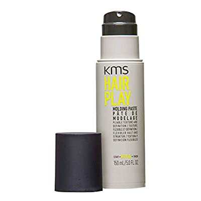 KMS HAIRPLAY Molding Paste Provides Texture, Natural Shine, Pliable Hold & Definition Unisex, 5 oz