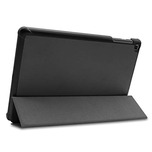 Robustrion Smart Trifold Hard Back Flip Stand Case for Galaxy Tab S5e 10.5 inch Tablet (SM-T720/T725) 10.5 inch 2019 Release - Black