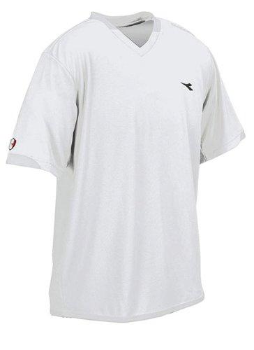 - Diadora Soccer Uffizi Jersey Shirt, White, Youth Medium