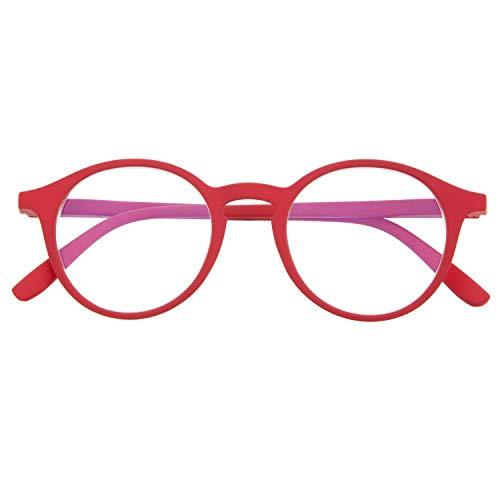 Reading Glasses for Men and Women. Blue Light Blocking Computer Readers. Rubber Touch Flexible Temple and Anti Glare Glasses. Ferrari +3.0 - UFFIZI