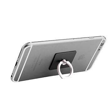 Ste ad Anillo Smartphone Black - 360 Grad Rotate Freely: Amazon.es ...