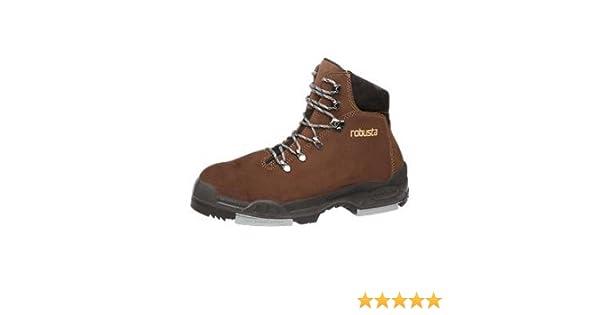 ROBUSTA - Bota bambu s3+ci+hro-serraje nobuck, Marrón, 44: Amazon.es: Zapatos y complementos