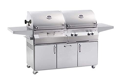 Fire Magic Aurora A830S Built-In Gas & Charcoal Grill w/Lights - NG