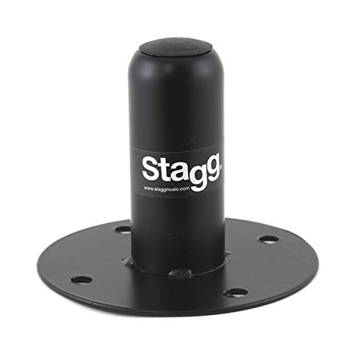 Stagg - Adaptador de metal para altavoces (hembra, 35 mm) musicpart SPS-2 90811