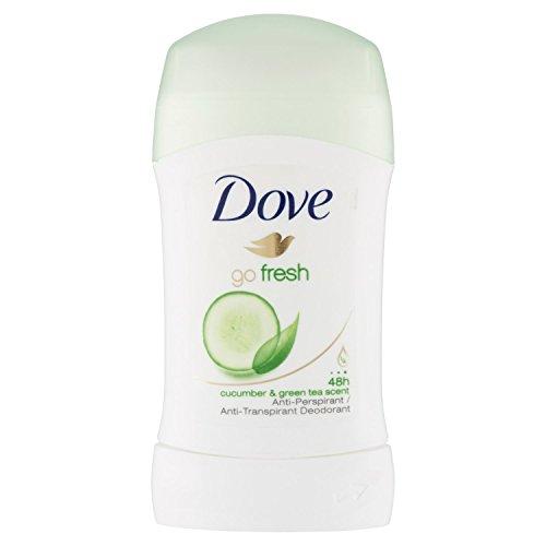 - Dove Go Fresh Pepino & Té Verde deodorant stick
