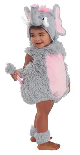 Princess Paradise Baby Elsa The Elephant Deluxe Costume, Grey/Pink, 18M/2T]()