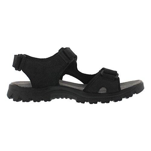 Sandalo Sportivo Softmoc Uomo Kirk Tre Cinturini Nero