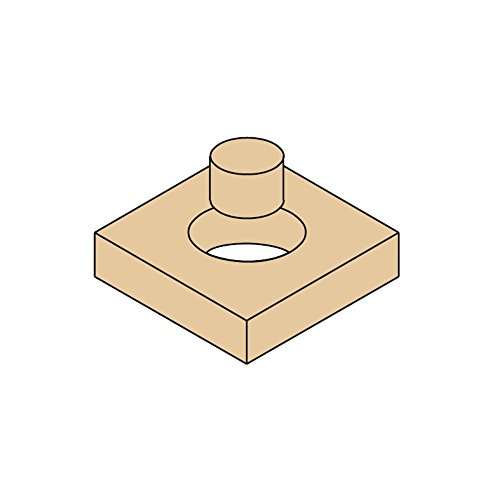 1//2-Inch Shank CMT 529.095.31 Plug Cutter 49//64-Inch Diameter 3//8-Inch Minor Diameter