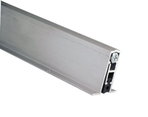 Pemko 085695 PDB411AE36 Mortised Automatic Door Bottom, Mill Finish Aluminum, 2'' Width, 36'' Length, Aluminum by Pemko