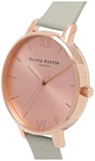 Olivia Burton Big Dial Quartz Movement Rose Gold Dial Ladies Watch OB16BD98