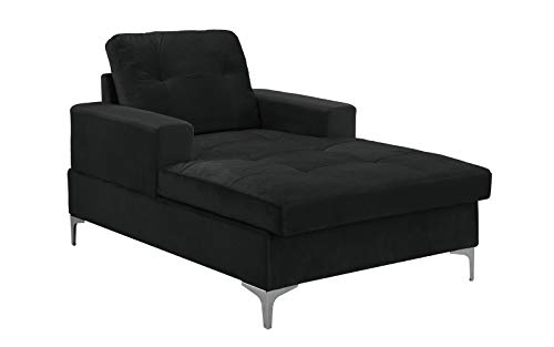 Divano Roma MidCentury Upholstered Chaise Lounge 54.7