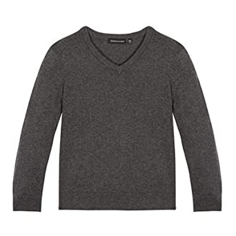 8ec45cac3a3f Debenhams Children s Grey V Neck Jumper  Debenhams  Amazon.co.uk ...
