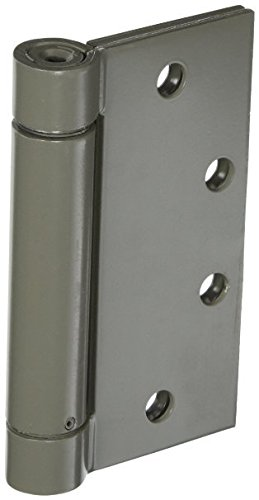 "Stanley Hardware 2060R 4-1/2"" X 4-1/2"" Heavy Duty Automatic Self Closing Spring Hinges Square Corners In Pack Of 3 (Prime Coat)"
