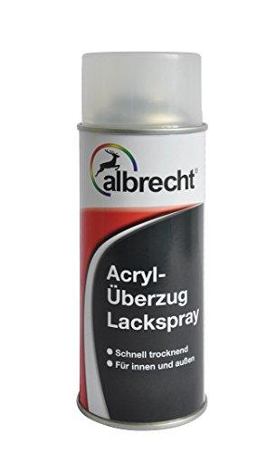 Albrecht Acryl-Überzug Lackspray 7001 400 ml, hochglänzend, 3400405310700100400