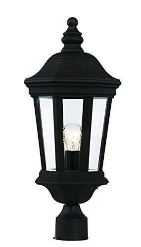 Trans Globe Lighting 40403 BK Outdoor Westfield 22.25'' Postmount Lantern, Black by Trans Globe Lighting