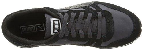 Puma Yarra Classic Damen US 6.5 Schwarz Turnschuhe