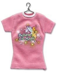 (JOLEES Disney Tinker Bell Non, Adhesive 3 Inch by 3-1/2 Inch T-Shirt Embellishment, Believe In The)
