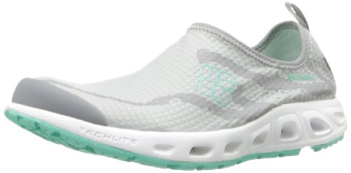 Columbia Women's Ventsock Water Shoe, Oyster/Lake Shore, 10.