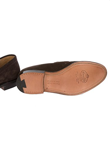 Church S Church's Homme DARWINDARKBROWN Marron Cuir Chaussures À Boucles