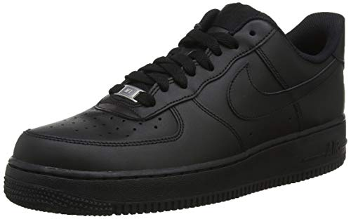 black 038 Air Donna Da Scarpe Basse Nike 1 Ginnastica black Force '07 Nero 7wOWaqZP
