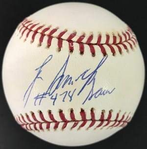 Lee Smith Signed Baseball - with