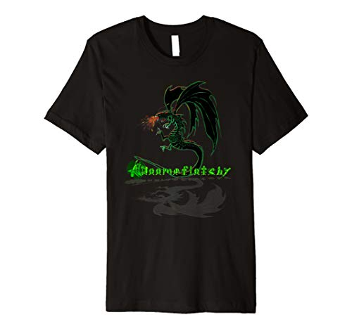 Dragon Fire Breathing T-shirt (Fire breathing dragon t shirt)