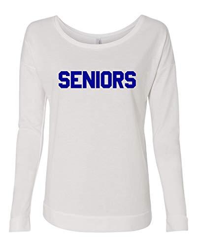 Seniors Long Sleeve t-Shirt Dazed & Confused Ladies Halloween Costume Raglan | Next Level | Long Sleeve Scoop (Small)