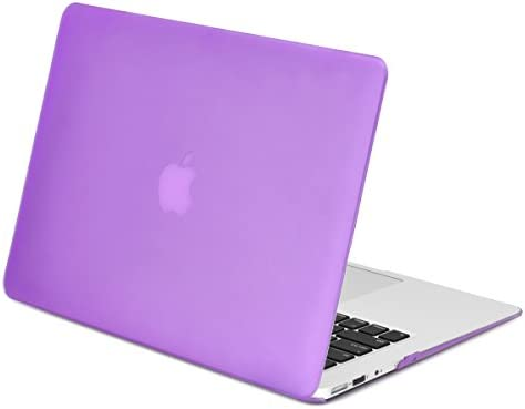 outlet store 41e75 c93ed TOP CASE - Rubberized Hard Case Cover Compatible with Apple MacBook Air 13