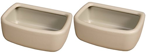 (2 Pack) Marshall Snap'N Fit Animal Bowl, Small, Holds 2-Cup