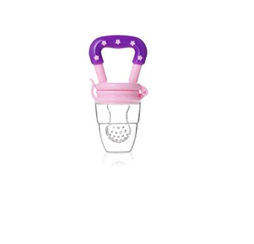 Silicone Baby Feeder Feeding M (Purple) - 6