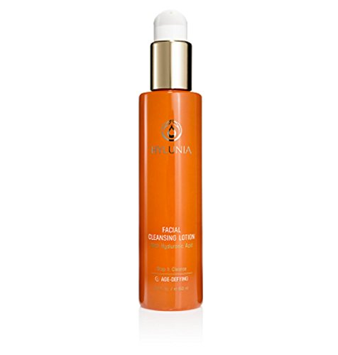 Hylunia Facial Cleansing Lotion - 5.1 fl oz - Anti-Aging for Wrinkles - with Shea Butter, Hyaluronic Acid Serum, Retinol, Zinc - Natural Vegan Moisturizer - Rapid Skin Repair