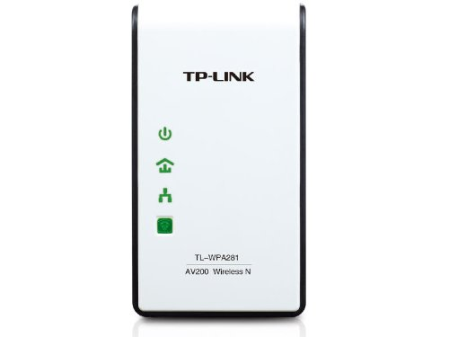 - TP-LINK TL-WPA281 300Mbps Wireless N Powerline Adapter, 2.4Ghz N300 Adapter, 802.11b/g/n