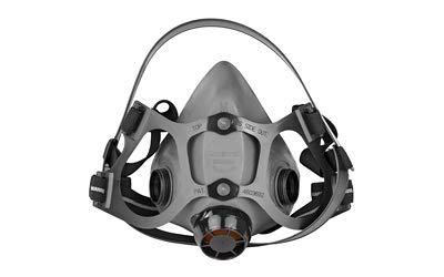 North by Honeywell 550030M 5500 Series Low Maintenance Half Mask Respirators, Medium