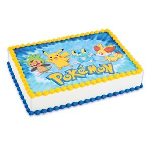 Pikachu Cake Topper Amazon
