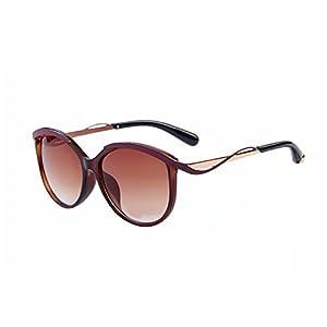 Women Vintage Designer Cat Eye Sunglasses Metal Frame Gradient Sunglasses UV400