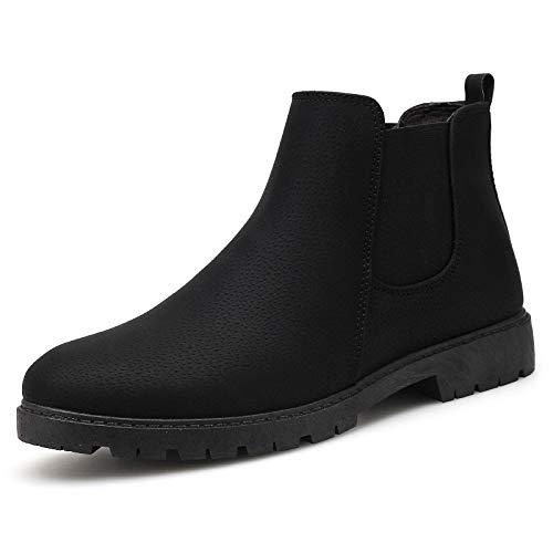 LOVDRAM Stiefel Männer Hohe Spitzenschuhe Pu Mode Face Fashion Herrenschuhe Martin Stiefel Casual Leder Stiefel Mode Pu Herren Stiefel Desert Stiefel 21c8fc