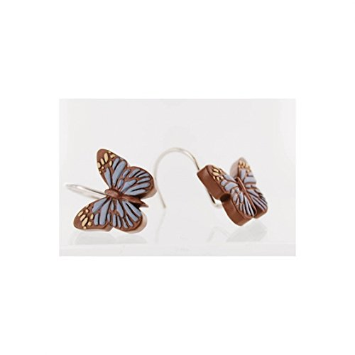 Faith Love Wisdom and Hope Butterfly Shower Curtain Hooks; S