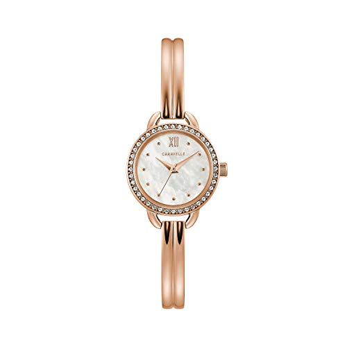 Caravelle by Bulova Dress Watch (Model: 44L247) - Steel Ladies Watch Bangle Bulova