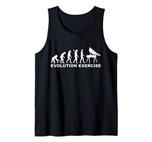 Evolution exercise pommel horse Tank - Pommel Top